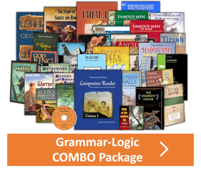 Year 1 - Grammar-Logic Combo Book Package